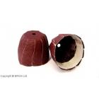 Rezerva abraziva cap sferic mic 80 grit (2 buc)