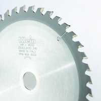 Panza circular Klein 250 x 2.2 x 30 mm Z40 - CF250.04030