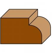 Freze pentru rotunjit colțurile, cu rulment