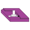 Freza pentru planeizat blaturi - Klein E350.520.R