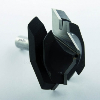 Freza Klein pentru imbinari 45 grade - ax 12 mm (mare)