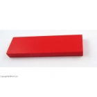 Corian Safety Red 120 x 40 x 12 mm