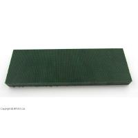 Micarta Hunter's Green Canvas 8 mm