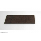 Micarta Brown Black Jute 8 mm