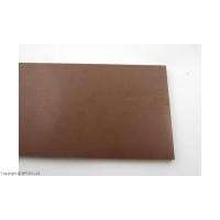 Micarta Brown Linen 8 mm - mare