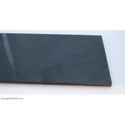 Micarta Black Canvas 7 mm - mare