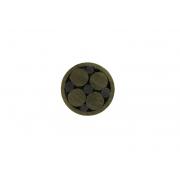 Mosaic pin 6 mm alama - negru