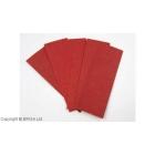 Set fibra vulcanizata rosie 0.8 mm / 6 buc