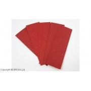 Set fibra vulcanizata rosie 0,8 mm / 6 buc