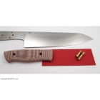 Kit EnZo Chef 185 mm / 12C27 / Micarta Brown Canvas