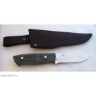 Kit EnZo Ready Trapper 95 N690Co Flat / Black Canvas Micarta