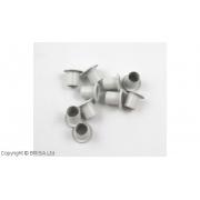 Nituri pentru Kydex Arctic White 8x6,5 mm/ 10 buc