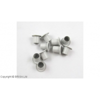 Ocheti Arctic White 8.3 x 6.3 mm / 10 buc