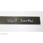 Otel VG10 SanMai 3 x 40 x 225 mm