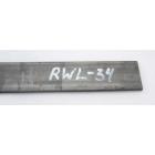 Otel RWL34™ - 2.6 x 38 x 250 mm
