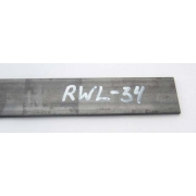 Otel RWL 34 - 2.6 x 38 x 250 mm