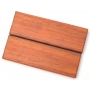 African Padauk Scales- 125 x 40 x 13 mm / 2 pcs