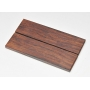 Exotic Wood Scales 126 x 37 x 6 mm / 2 pcs (8)