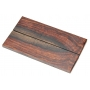 Exotic Wood Scales 126 x 37 x 6 mm / 2 pcs (9)