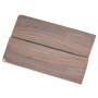 Indian rosewood scales - 125 x 39 x 6 / 2 pcs (3)