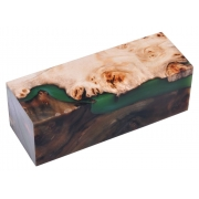 Hibrid lemn stabilizat / rasina verde BF 01