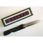 Higonokami White-Paper-Steel San-Mai Black Drop-point 75 mm (M) by Motosuke Nagao