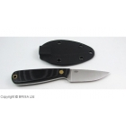 Cutit Brisa Necker 70 / Black Micarta / teaca Kydex
