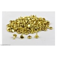Nituri Aurii 9 X 9 mm / 100 buc (double cap)