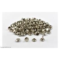 Nituri Argintii 9 x 9 mm / 100 buc (double cap)