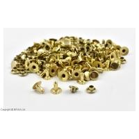 Nituri Aurii 7 x 7 mm / 100 buc (single cap)