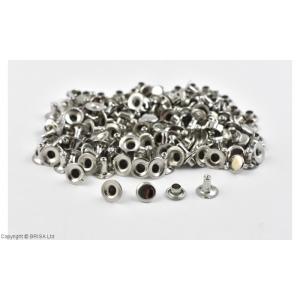 Nituri Argintii 7 x 7 mm / 100 buc (single cap)