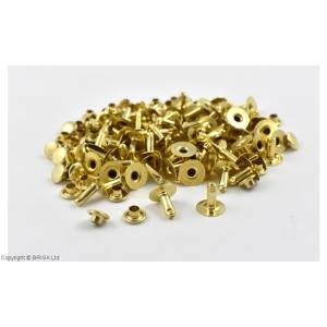 Nituri Aurii 7 x 9 mm / 100 buc (single cap)