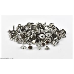 Nituri Argintii 7 x 9 mm / 100 buc (single cap)