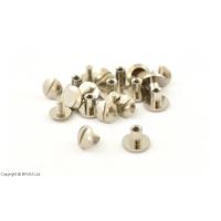 Nituri Chicago Argintii 9 x 5 mm / 10 buc