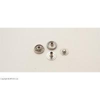 Capse argintii 11 mm / 10 buc