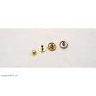 Capse aurii 11 mm / 10 buc