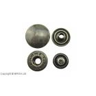 Capse antique 15 mm / 10 buc