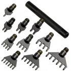Set perforatoare rombice