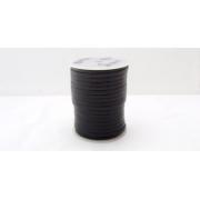 Fir plat piele neagra 3 mm / 50 m