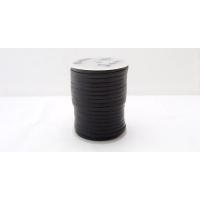 Fir plat piele neagra 3 x 2 mm / 1 m