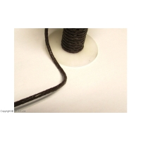 Fir impletit piele maro 4 mm / 1m