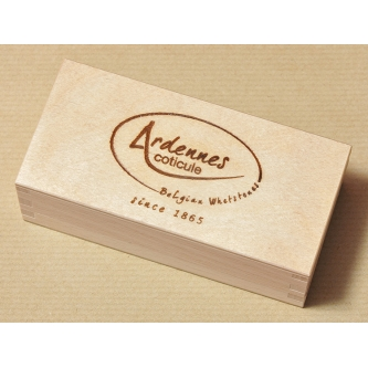 """Cutie din lemn originala """"Ardennes Coticule"""" 125×40 mm"""