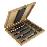 Set 5 dalti SDS in cutie de lemn - Narex
