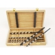 Set 6 burghie tip Lewis in cutie din lemn - 6 / 8 / 10 / 12 / 14 / 16 mm