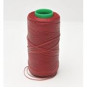Ata cerata rosu bordo 1 mm - 100% poliester - 25m