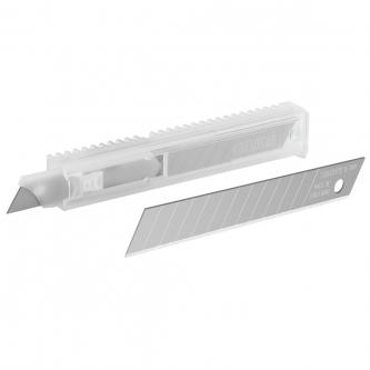 Set 10 lame Stanley pentru cutterul Interlock 9 mm