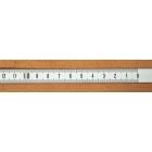 Rigla gradata autoadeziva 0.5 m - dreapta - stanga (alba)