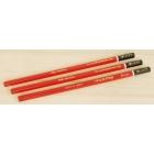 Set 3 creioane Shinwa PRO Japan - duritate medie (rosu)