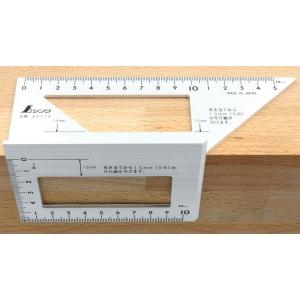 Echer pentru imbinari 45° + 90° - Shinwa