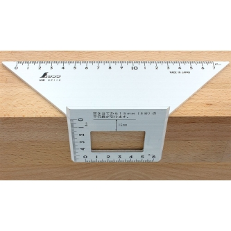 Echer pentru imbinari 45° + 90° + 45° - Shinwa